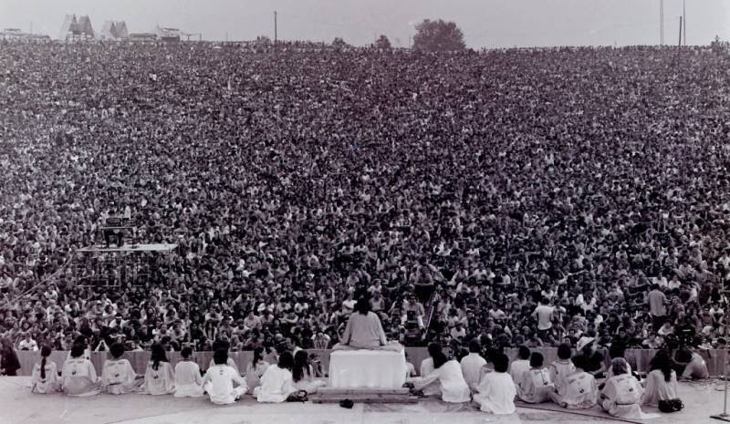 46 Years Ago Today, 500,000 People Descended On A Farm For The Greatest Music Festival Of All Time Woodstock-opening-ceremony