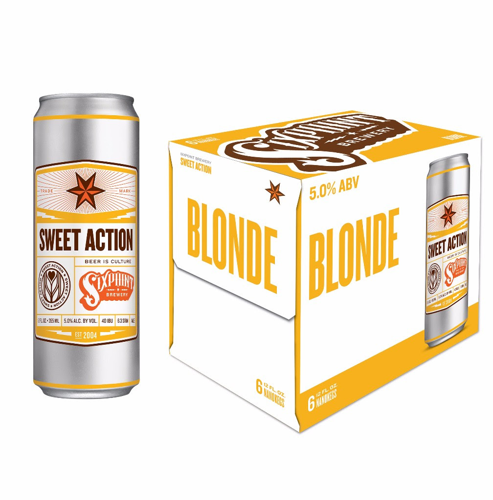 Sixpoint Brewery Sweet Action® Blonde