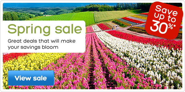 Spring Sale Up to 30% OFF On Top Destinations at Hotels.com