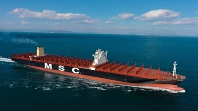DNV GL classes world's largest boxship, MSC Oscar