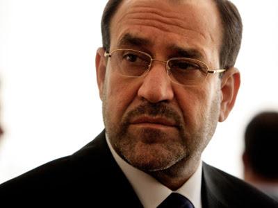 El primer ministro chií, Nuri al Maliki.