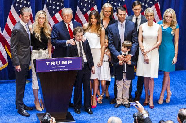 Mỹ, Donald Trump, Melania Trump, cựu mẫu bikini
