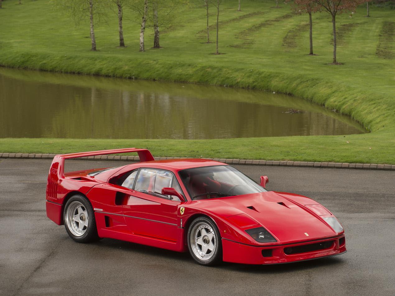 1987 Ferrari F40 Prototype 5