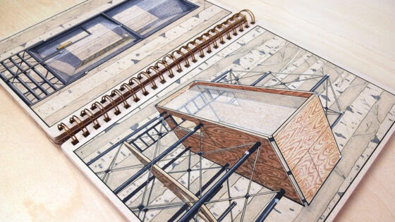 This Clever Drawing Trick Makes it Quick and Easy to Sketch in Perfect Perspective
