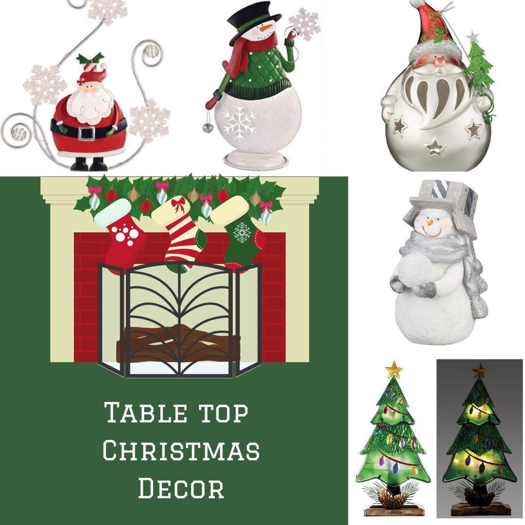 christmas table top decor