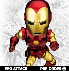 Marvel Comics Egg Attack Action EAA-105 Iron Man (Classic)