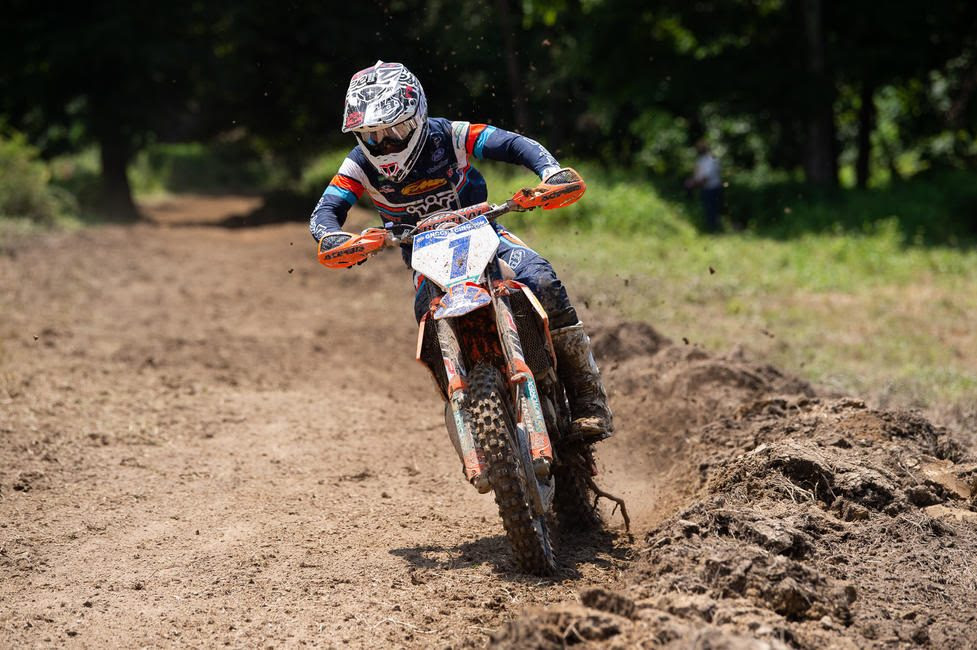 Jesse Ansley earned the FMF XC3 125 Pro-Am class win, and now sits one point behind first place in the points standings.