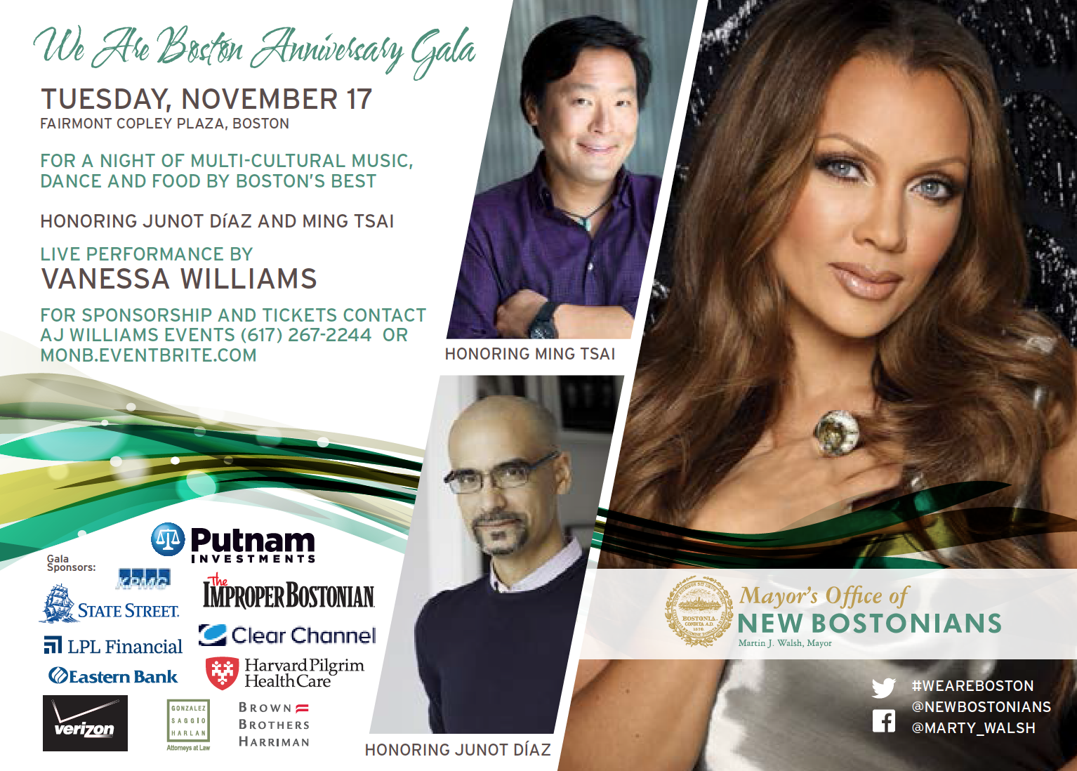 We Are Boston Gala 2015 Ticket Information