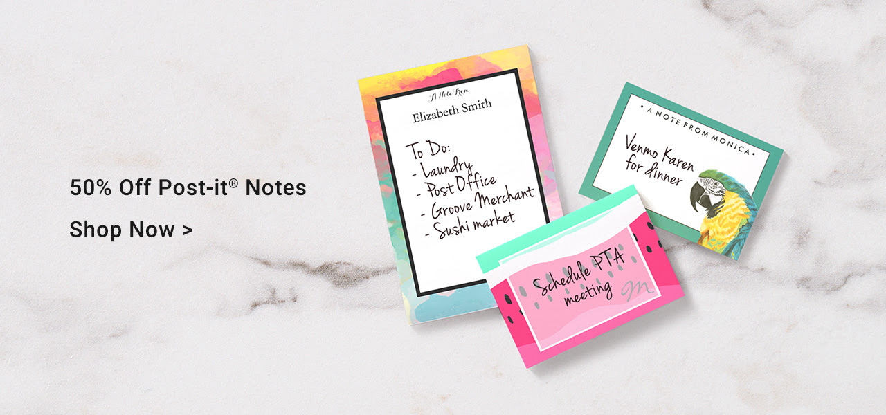 50% Off Post-it® Notes