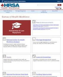 screen capture of the redesigned bhw homepage