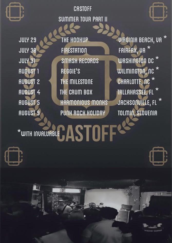 Castoff summer tour 2016