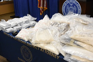 fentanyl and heroin seized