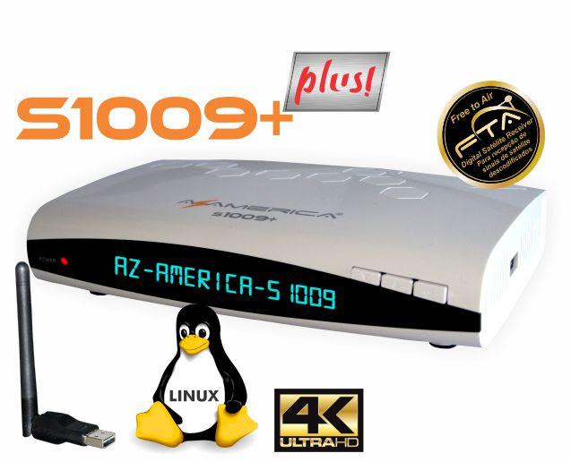 s1009plus - AZAMERICA S1009 PLUS HD NOVA ATUALIZAÇÃO V1.23 - 27/07/2018