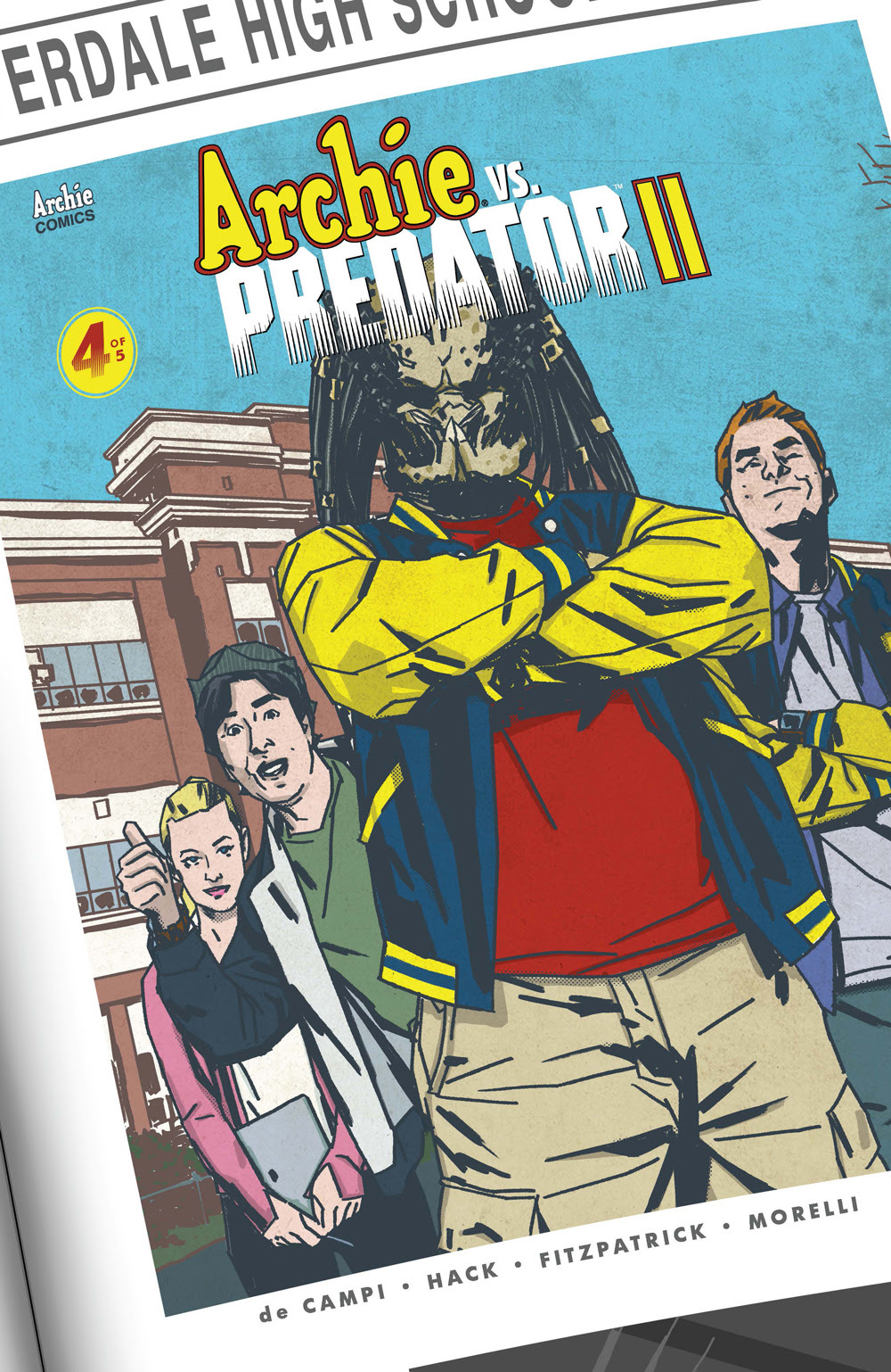 ARCHIE VS. PREDATOR 2 #4: CVR B Smith