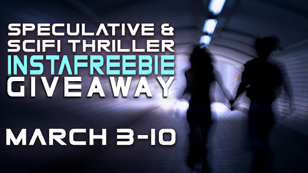 Speculative and Scifi Thriller Instafreebie Giveaway