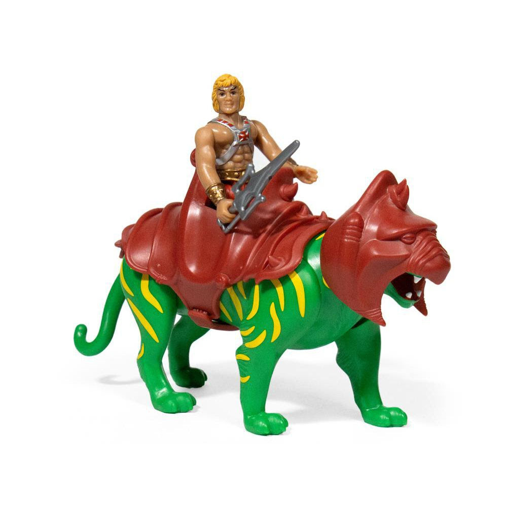Image of Masters of the Universe ReAction Figure - He-Man & Battle Cat Two Pack - Q1 2020