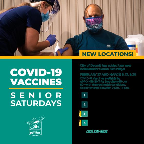 COVID-19 Vaccines Super Saturdays Expanded