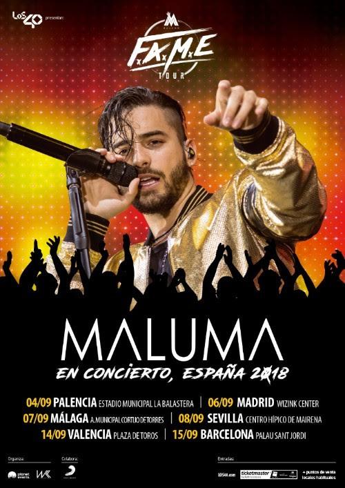 Maluma en Palencia