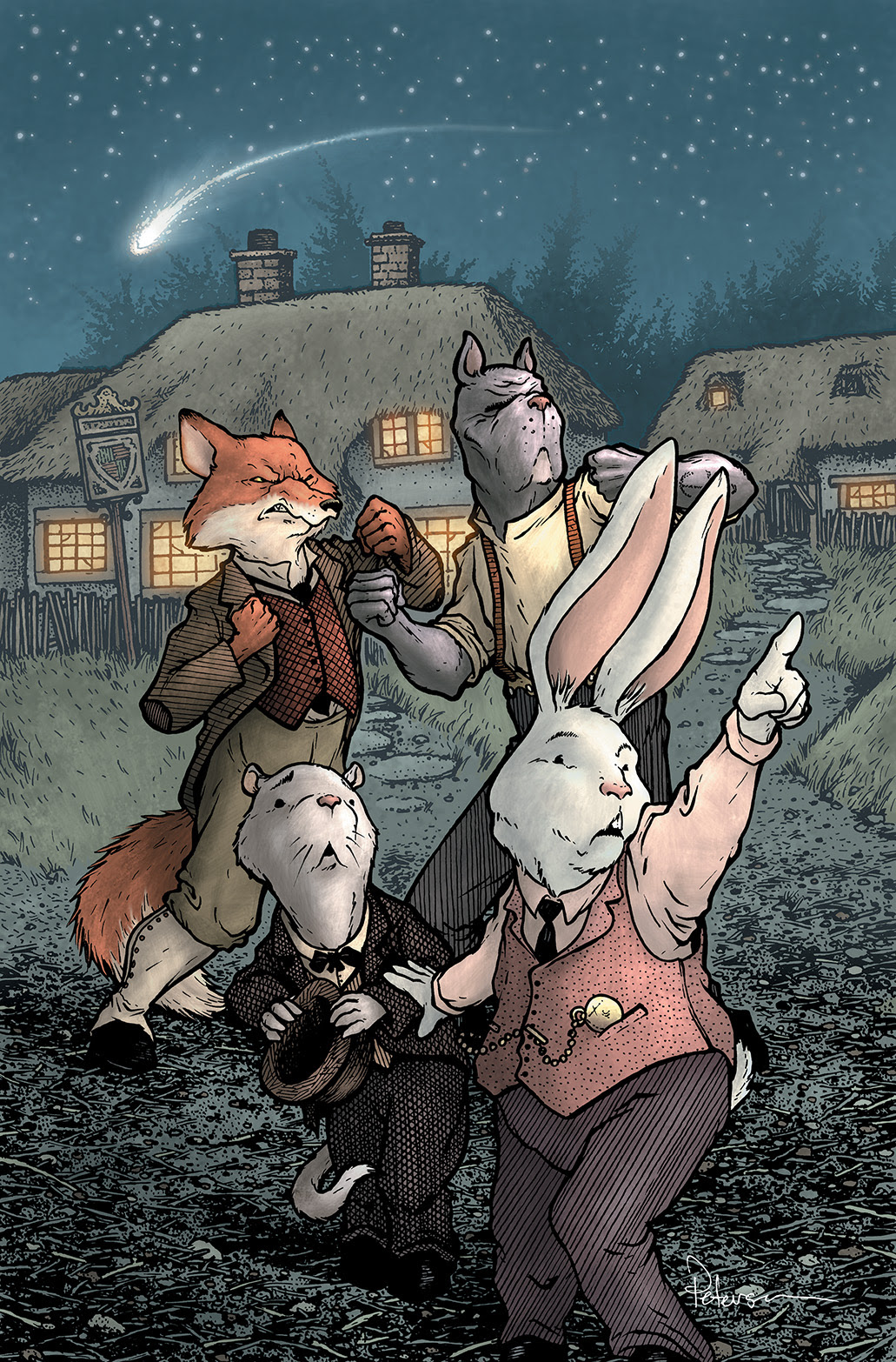 Wild's End #1 Cover B
