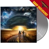 SUNSTORM - The Road To Hell - LTD Gatefold SILVER Vinyl, 180 Gram - SHOP EXCLUSIVE !