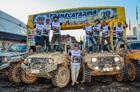 Cada grupo da Adventure é formado por 30 veículos 4x4 super preparados (Ney Evangelista/DFOTOS)