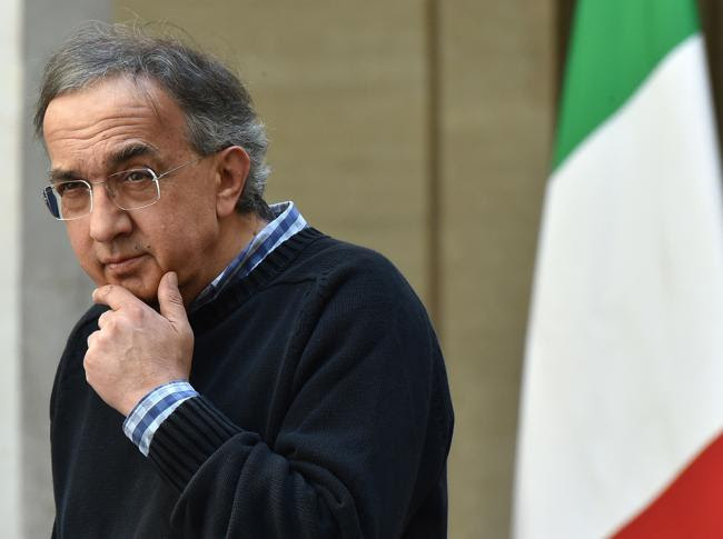 Sergio Marchionne, manager, 1952-2018 (AFP)