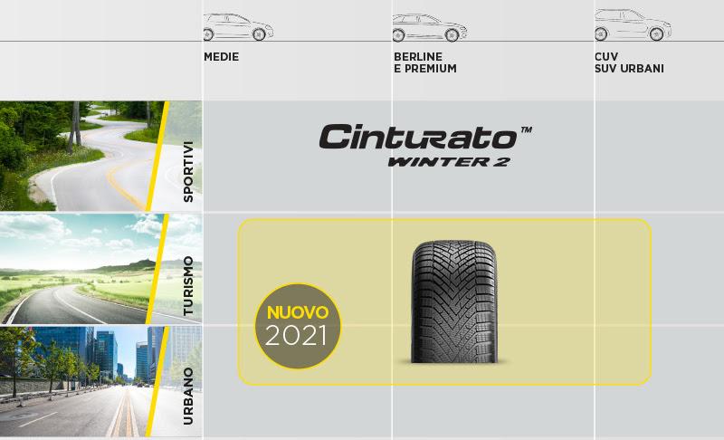 Pirelli Cinturato Winter 2 - Gamma completa: sportivi, turismo e urbano