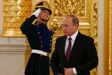 President Vladimir V. Putin of Russia, right, has been praised by Donald J. Trump, who has repeatedly promised to realign the United States with Russia.