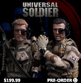 UNIVERSAL SOLDIER 1/6 FIGURES
