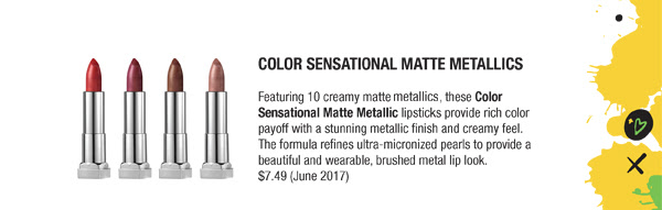Color Sensational Matte Metallics