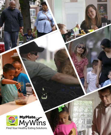 Meet the 6 MyPlate, MyWins Families