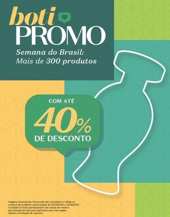 O Boticário oferece descontos de até 40% em mais de 300 produtos da marca