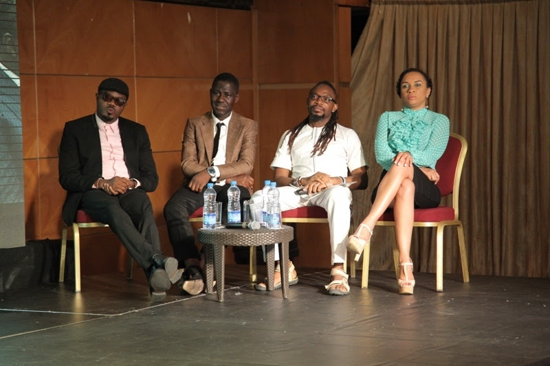 Entertainment Industry commentators- DJ Jimmy Jatt  Cally Ikpe  OJB Jezreel and Ibinabo Fiberesima