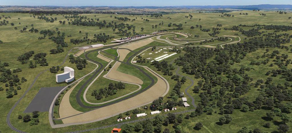 Second Bathurst track: rendering revealed