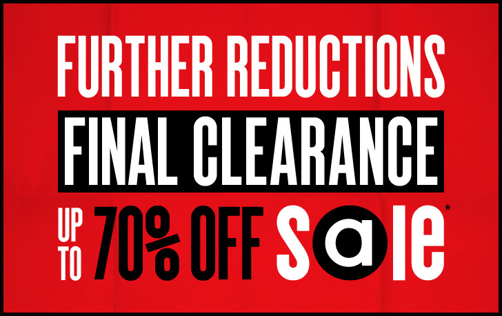 Further Reductions Up to 70% OFF Final Clearance + Free Delivery Worldwide at Asos.com