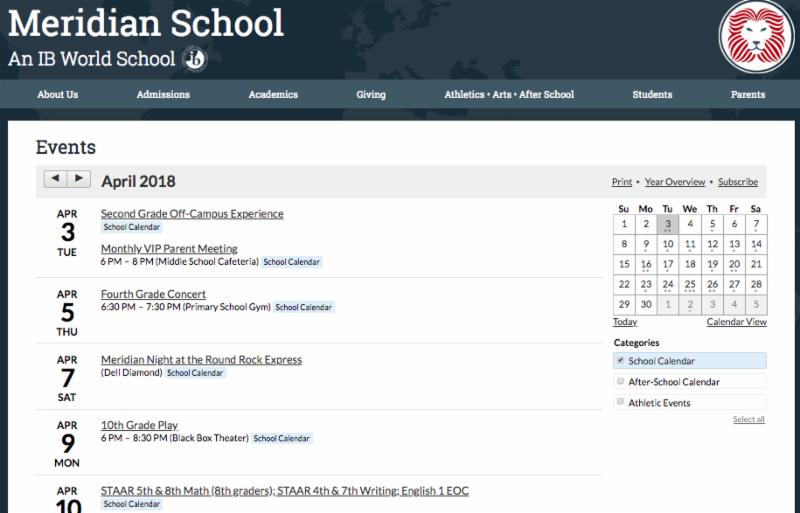 83548c717e25 Lions Share – Principal Newsletters – Meridian School