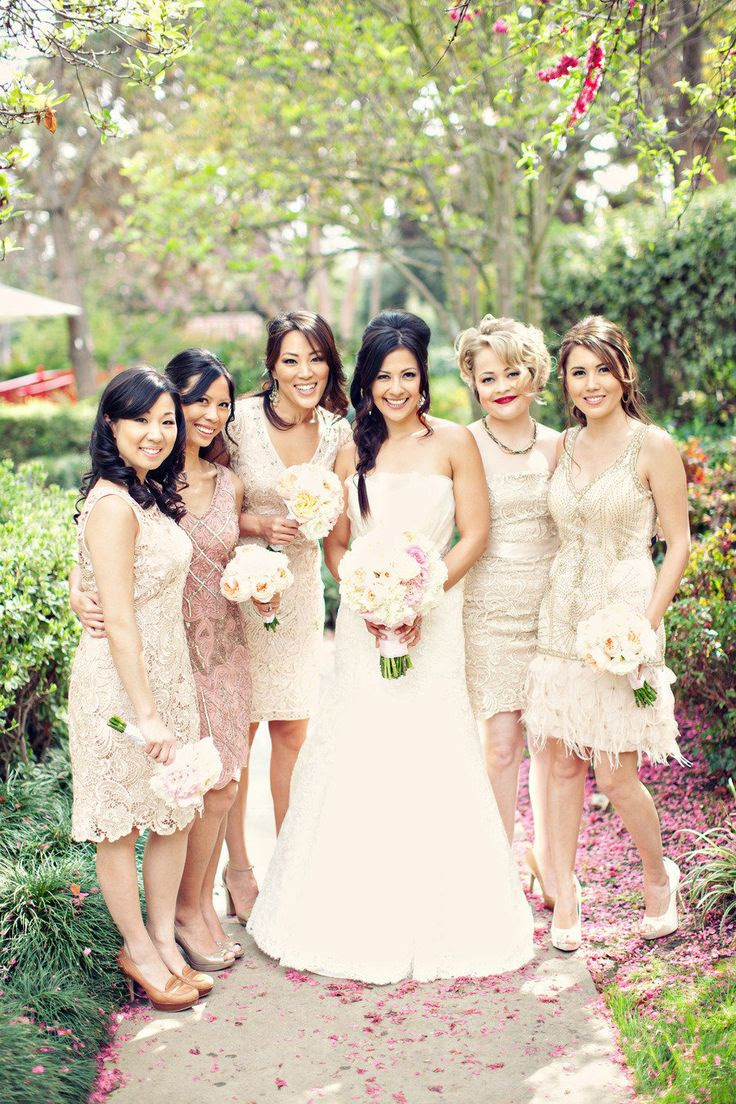 #sue-wong, #adrianna-papell  Photography: Clayton Austin - loveisabird.com/  Read More: http://www.stylemepretty.com/2013/08/14/southern-california-wedding-from-a-good-affair/