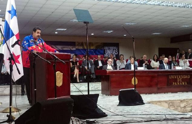 Maduro en la clausura de la Cumbre de los Pueblos