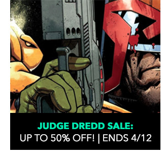 Judge Dredd Sale: up to 50% off! Sale ends 4/12.