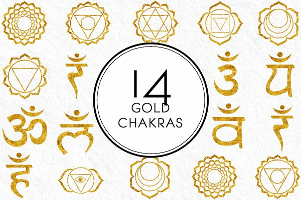 Gold Chakras