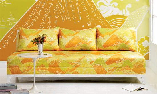 Beacon Hill Floating World Fabric Collection