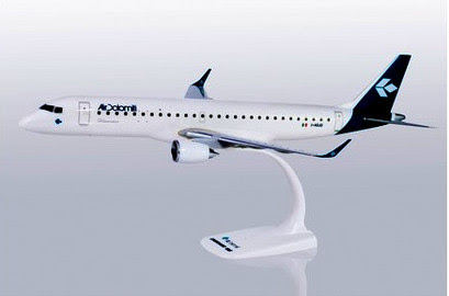 Herpa Snap-Fit (Wooster) 1:100 | Embraer E-195 Air Dolomiti I-ADJO New Colours, | is due: January / February 2020