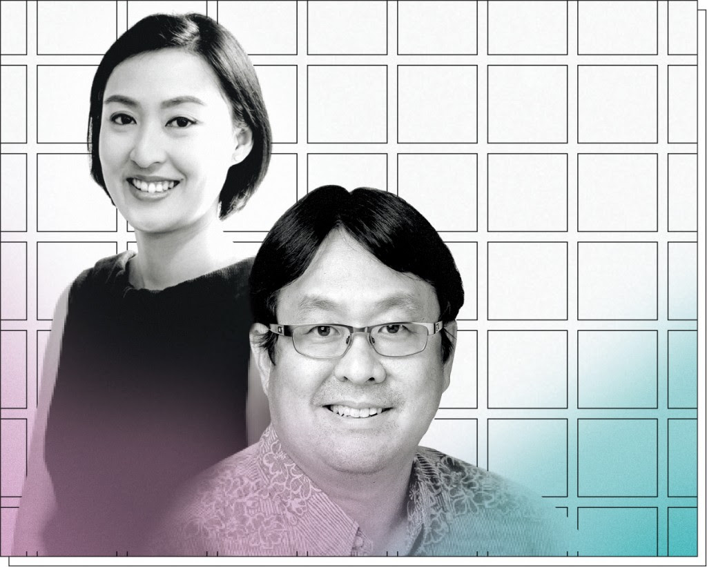 Ellen Ng and Len Higashi of Hawaii Technology Development Corp. | Photo: Aaron K. Yoshino