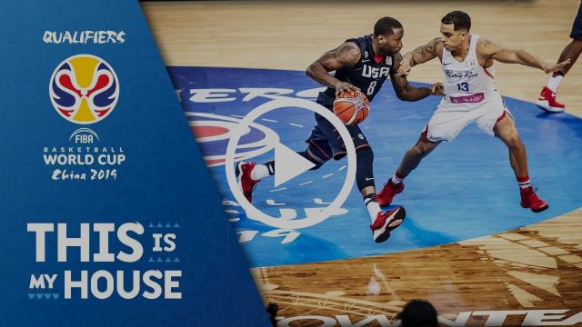 Puerto Rico vs. USA - Highlights - FIBA Basketball World Cup 2019 - Americas Qualifiers
