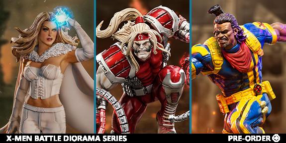 X-Men Battle Diorama Series