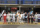 Pilotos que participaram de treino extra em 2015 (Luciano Santos/SigCom)