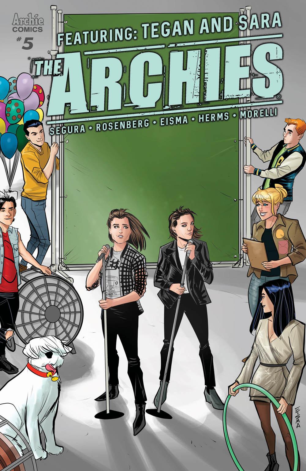 The Archies #5 CVR B: Eisma