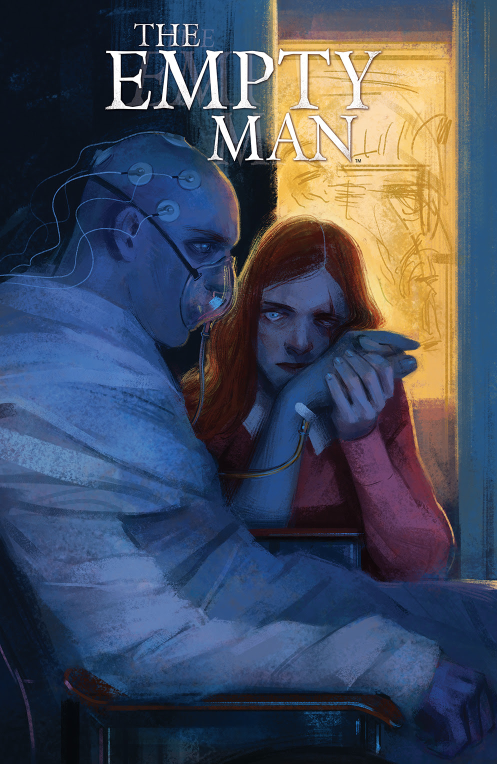 THE EMPTY MAN #3 Cover by Vanesa R. Del Rey