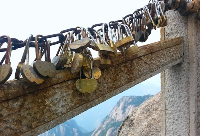 Locks on Huang Shan