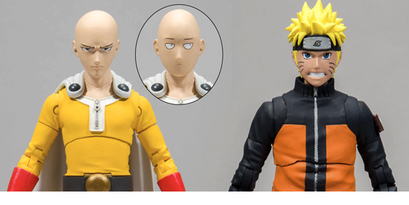 NEW MCFARLANE TOYS: ONE-PUNCH MAN, NARUTO, STRANGER THINGS